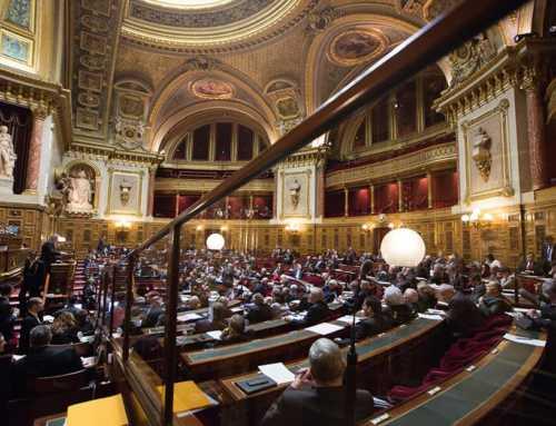 Isabelle Liberge, interpelle les sénateurs au sujet de la crise qui touche les GE