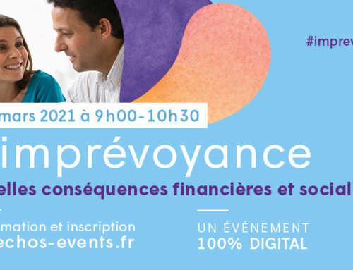 """Conférence """"L'imprévoyance : quelles conséquences financières et sociales ?"""""""