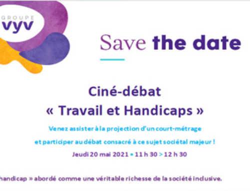"""Ciné-débat en ligne """"Travail et Handicaps"""" Le 20 mai 2021"""