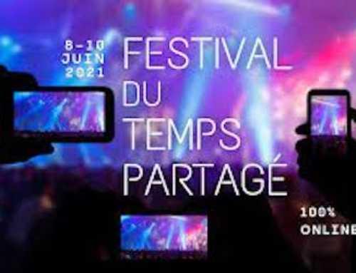 Festival du temps partagé du 8 au 10 juin 2021