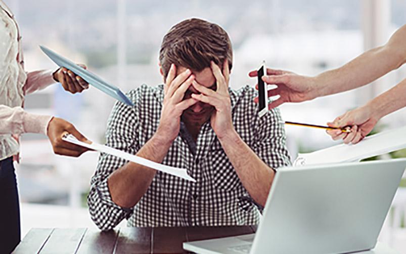 stress du dirigeant d'entreprise